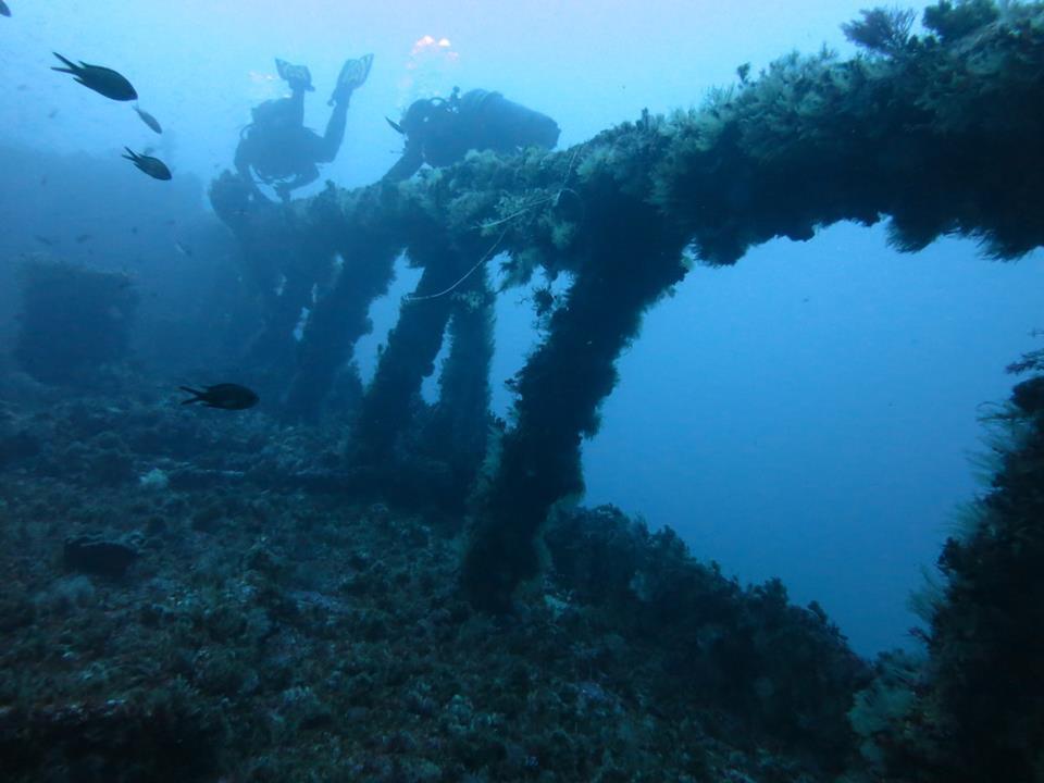 Immersioni Relitto Terni Catania