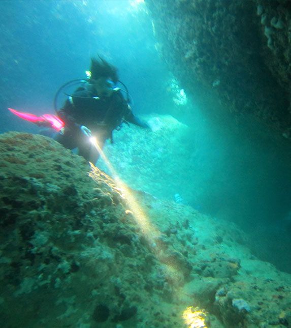 Timpa Cliff Dive
